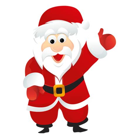 fotos o imagenes de santa claus santa claus raising hand png transparent photo free