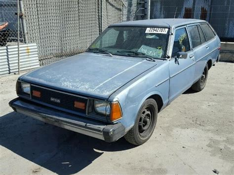 1981 datsun 210 for sale 1981 datsun 210 deluxe for sale at copart los angeles ca