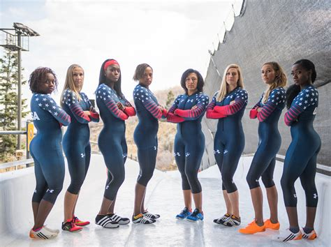 pictures of women of the winter olympics from the 1940s sista sled u s women s bobsleds win gold and silver on