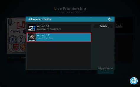epl kodi addon instalar addon live premiership en kodi premier league
