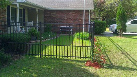 backyard fence for dogs town country fences llc