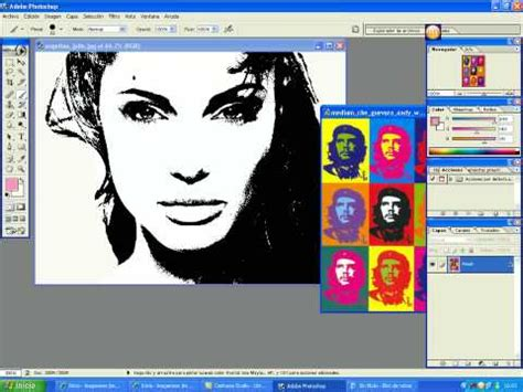 tutorial photoshop warhol tutorial efecto andy warhol youtube
