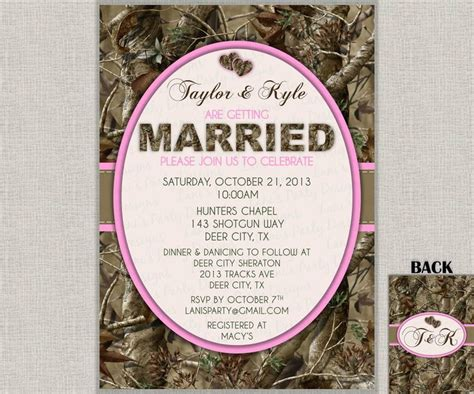 camo wedding invitations templates 17 best ideas about camo wedding cakes on camo