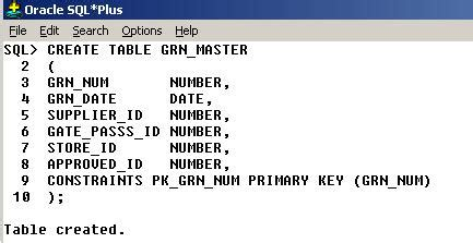 oracle sql create table how to create table in oracle learn oracle technologies