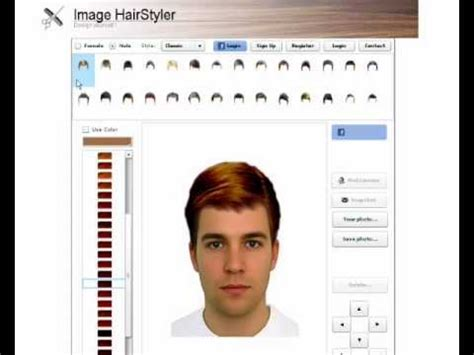 haircut generator hairstyle generator for men hairstyles