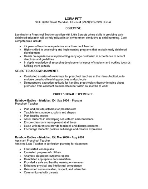 how to write a perfect teaching resume examples included