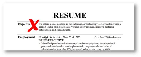 do you need an objective on your resume 12 killer resume tips for the sales professional jeff
