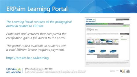 Mba Portal Hec by Erpsim Academic Version 2017 18 Tokyo Conference At Sap