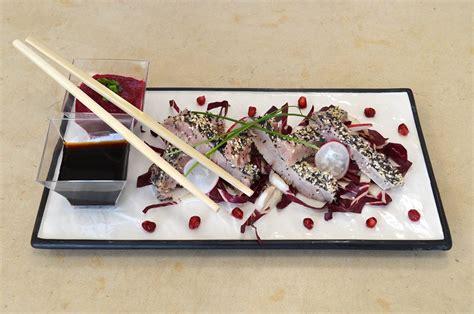 cucinare filetto di tonno corso di cucina filetto di tonno al sesamo