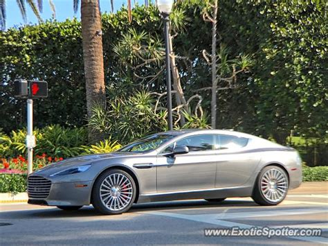 Aston Martin Of Palm by Aston Martin Rapide Spotted In Palm Florida On 01