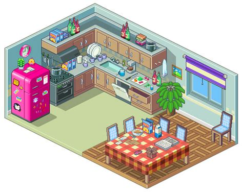 Pixel Kitchen by Army Of Trolls Pixel