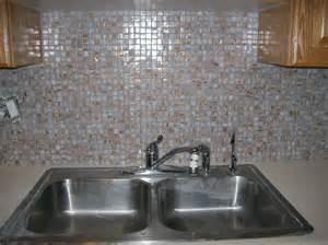 tile marble copperwood glass backsplash