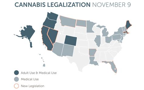 medical marijuana in united states map 2016 states with legal cannabis america s legalization map