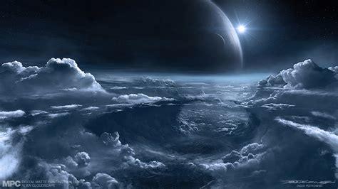 Art Of Jacek Irzykowski Mpc Alien Cloudscape Final
