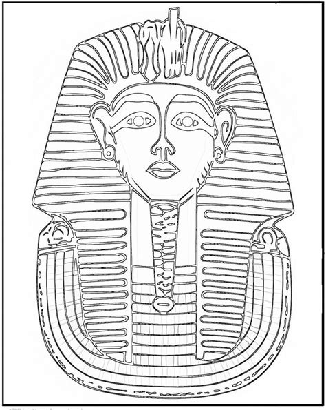 printable egyptian images ancient egypt coloring page ancient egypt pinterest