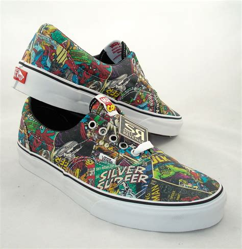 marvel shoes for new s vans era shoes marvel skate iron