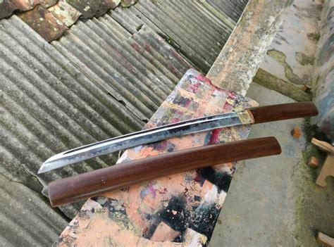 Pedang Samurai Katana Z Hq Steel Tebas Paku pabrik pedang katana samurai senjata silat