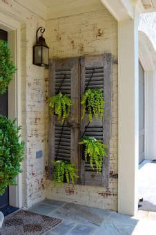 Decorating Ideas Using Shutters Shutters Decor On Shutter Decor Primitive