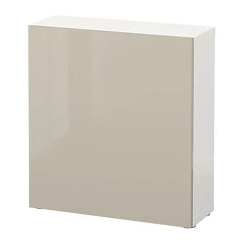 besta shelf unit with doors best 197 shelf unit with door white selsviken high gloss beige ikea