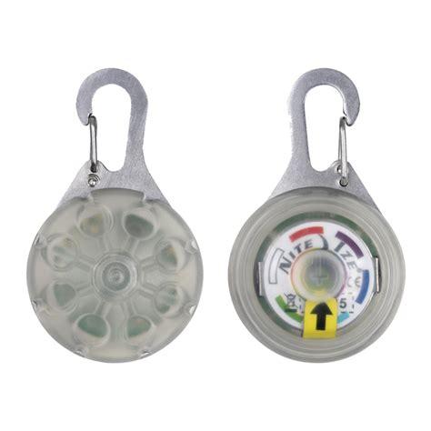 spotlit led carabiner light spotlit led carabiner light disc o select