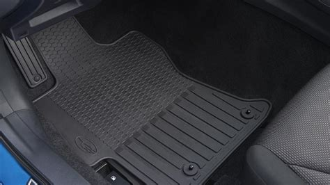 subaru impreza all weather floor mats j501sfl100