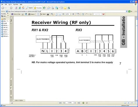 wiring rf room stat of questions diynot forums
