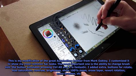 paint tool sai tablet asus vivotab tf810c tablet drawing painting review