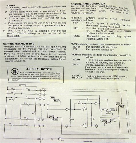 janitrol 18 60 thermostat wiring diagram electric home