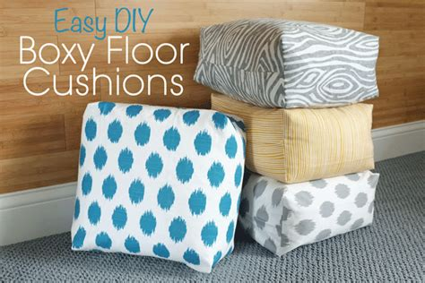 diy cushions diy easy boxy floor cushions teal and lime by jackie hernandez