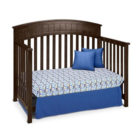 Graco Charleston Convertible Crib Graco Charleston 4 In 1 Convertible Crib In Espresso 04540 539