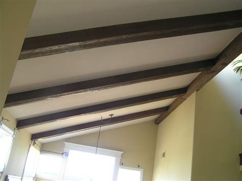 How To Install Decorative Ceiling Beams by Sawn Ceiling Beams Decorative Faux Wood