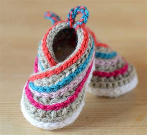 baby shoes crochet crochet kimono baby shoes tutorial