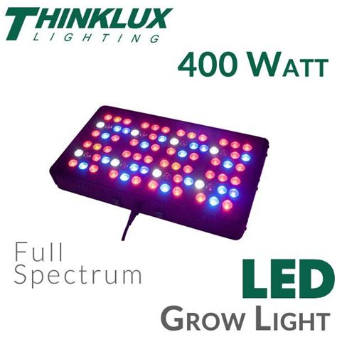 pg 400 led grow light thinklux apollo 8 led grow light 400 watts earthled com