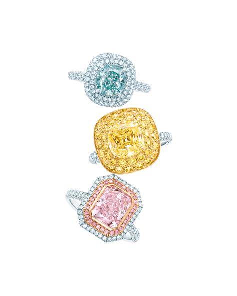 tiffany diamond rings from top cushion cut fancy