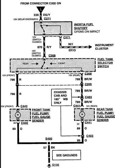 1993 Ford F150 4.9L I6. Dual tanks. Engine cranks, won't