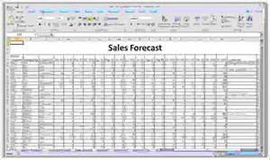 Business Forecast Spreadsheet Template by 8 Sales Forecast Spreadsheet Procedure Template Sle