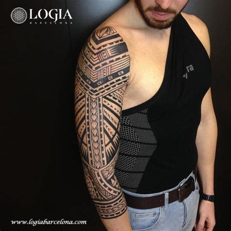 tattoo prices barcelona tribal maori sleeve tattoo by logia barcelona