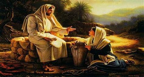 imagenes de jesus y la samaritana bautizados en mision
