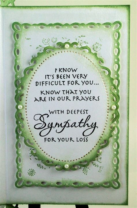 Handmade Sympathy Cards Verses - 1000 images about inside the card on sympathy