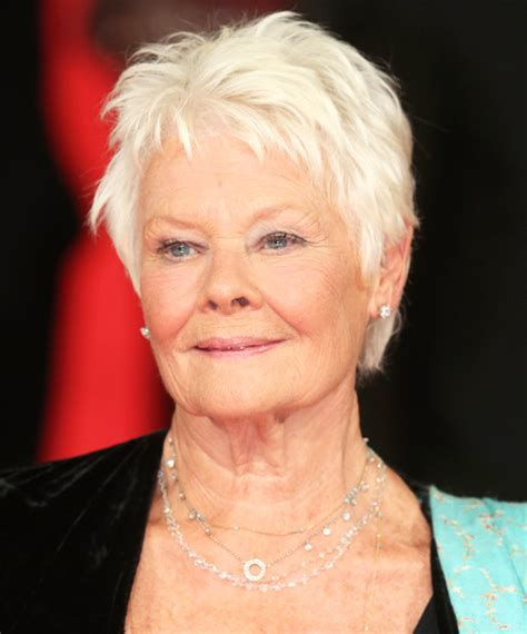 judi dench hairstyle front and back of head judi dench hairstyle front and back head short short