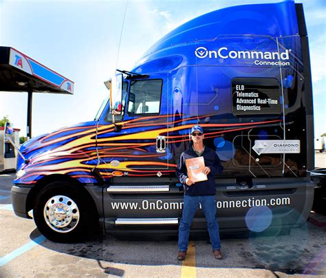 Ta Sweepstakes - back on the road meet the oncommand connection sweepstakes winner jim mccauley