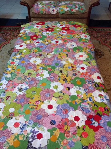 Quilting And Patchwork - 1590 best quilt hexi cube etc insp images on