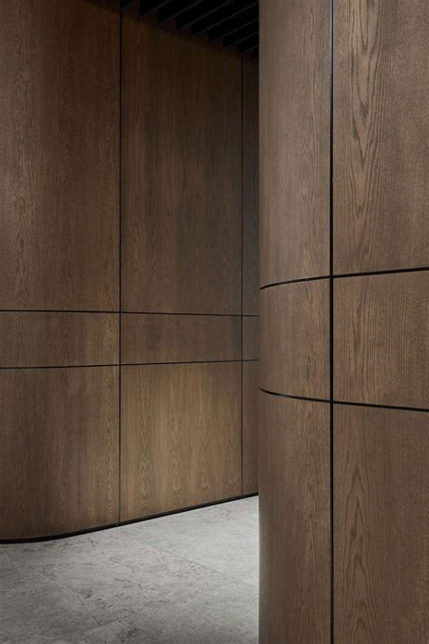 wood wall treatments pdg melbourne head office by studio tate melbourne