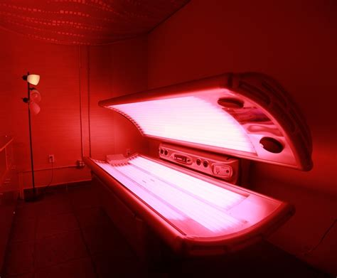 red light bed red light therapy beach beauty health spa