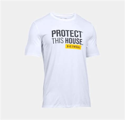 protect this house under armour protect this house tech t shirt