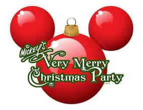 mickey merry christmas party logo mco