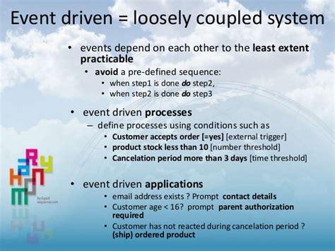 event driven workflow lucidchart an event driven approach for generating a