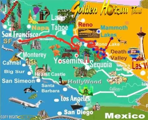 map san francisco to yosemite national park yosemite custom tours yosemite tours yosemite