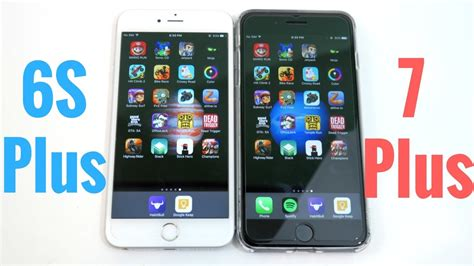 iphone 6s plus vs iphone 7 plus gaming