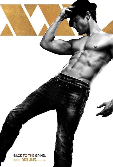 matt bomer magic mike 2 photos new magic mike character posters are